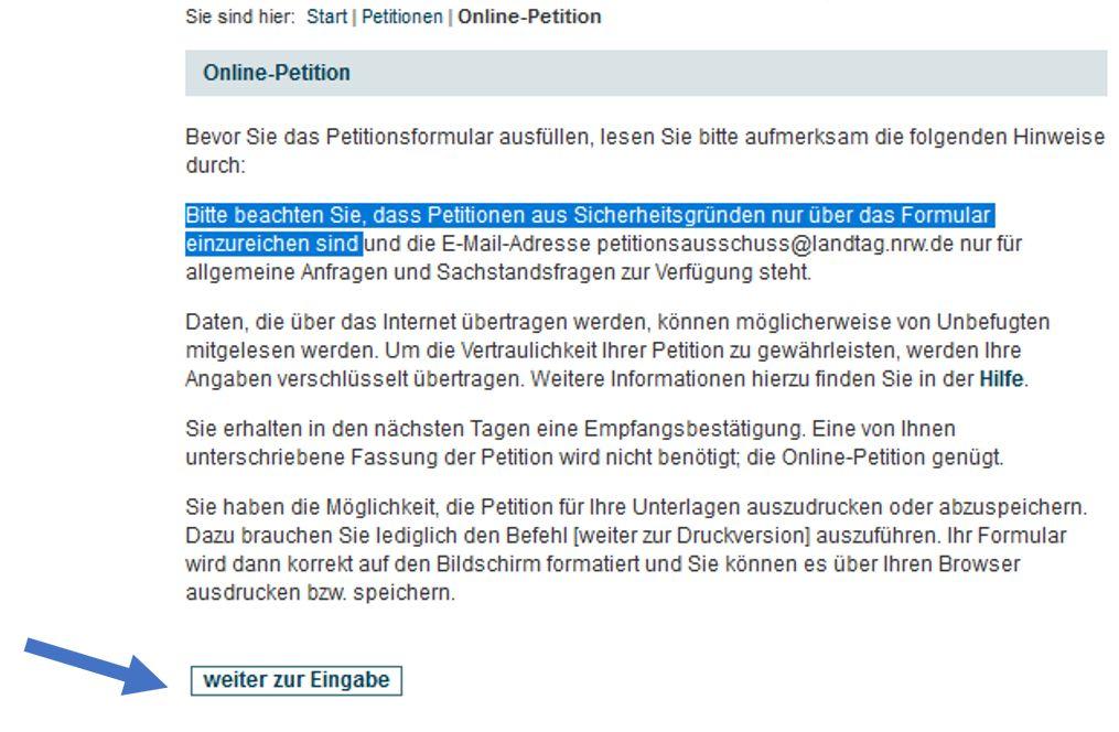 Startseite Online-Petitionen des Landtags NRW -  https://www.landtag.nrw.de/home/petitionen/online-petition.htmlStartseite Online-Petitionen des Landtags NRW -  https://www.landtag.nrw.de/home/petitionen/online-petition.html